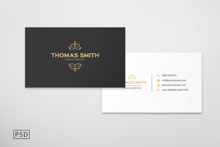 Preview image of Modern Minimalist Business Card Template
