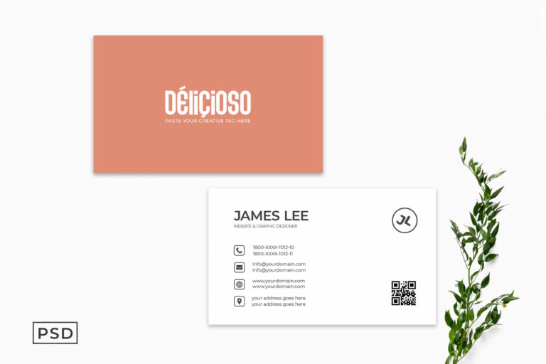 Preview image of Minimal Creative Business Card Template