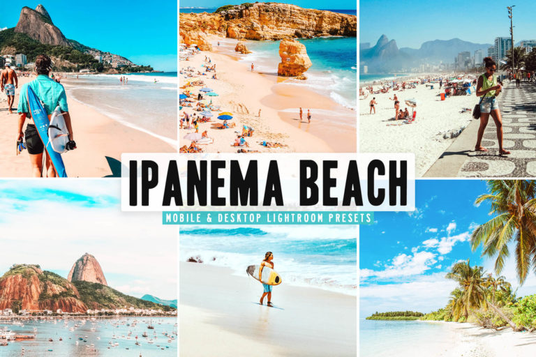 Preview image of Ipanema Beach Mobile & Desktop Lightroom Presets