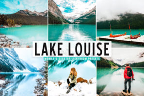 Lake Louise Mobile & Desktop Lightroom Presets
