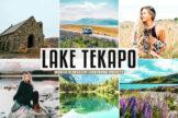 Last preview image of Lake Tekapo Mobile & Desktop Lightroom Presets