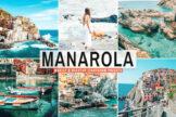 Last preview image of Manarola Mobile & Desktop Lightroom Presets