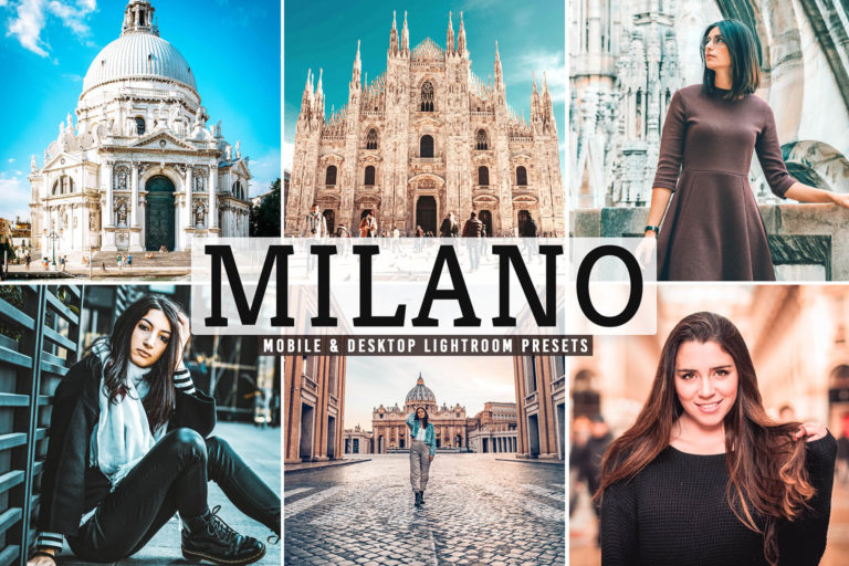 Preview image of Milano Mobile & Desktop Lightroom Presets