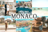Last preview image of Monaco Mobile & Desktop Lightroom Presets