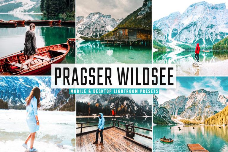 Preview image of Pragser Wildsee Mobile & Desktop Lightroom Presets
