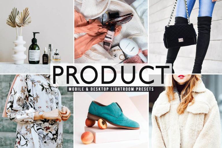 Preview image of Product Mobile & Desktop Lightroom Presets