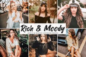 Rich & Moody Mobile & Desktop Lightroom Presets