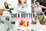 Last preview image of Shea Butter Mobile & Desktop Lightroom Presets
