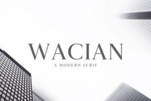 Wacian Serif Font Family