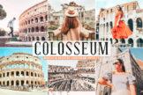 Last preview image of Colosseum Mobile & Desktop Lightroom Presets