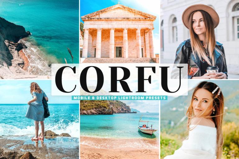 Preview image of Corfu Mobile & Desktop Lightroom Presets