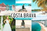 Last preview image of Costa Brava Mobile & Desktop Lightroom Presets