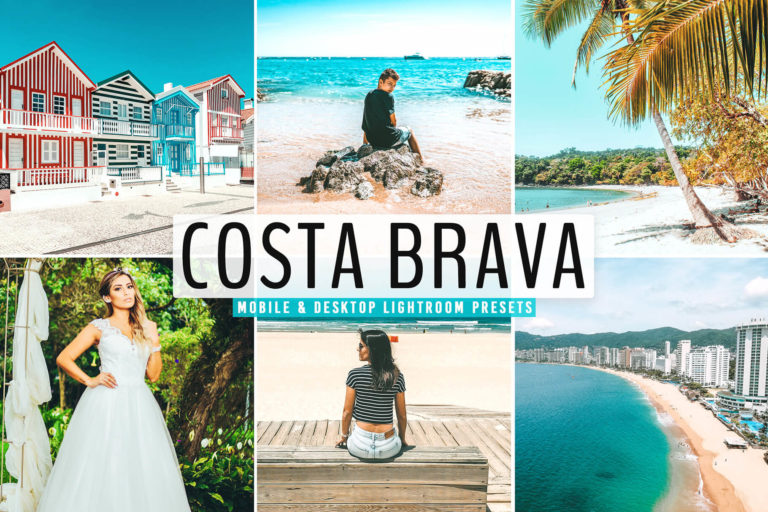 Preview image of Costa Brava Mobile & Desktop Lightroom Presets