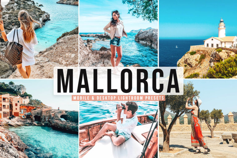 Preview image of Mallorca Mobile & Desktop Lightroom Presets