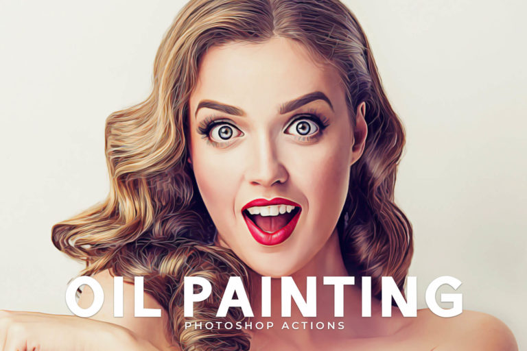 Preview image of Oil Painting Photoshop Actions