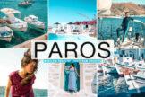 Last preview image of Paros Mobile & Desktop Lightroom Presets
