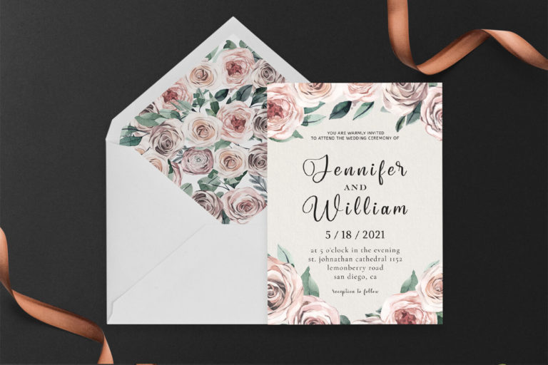 Preview image of Rusty Wedding Invitation Template