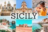 Last preview image of Sicily Mobile & Desktop Lightroom Presets