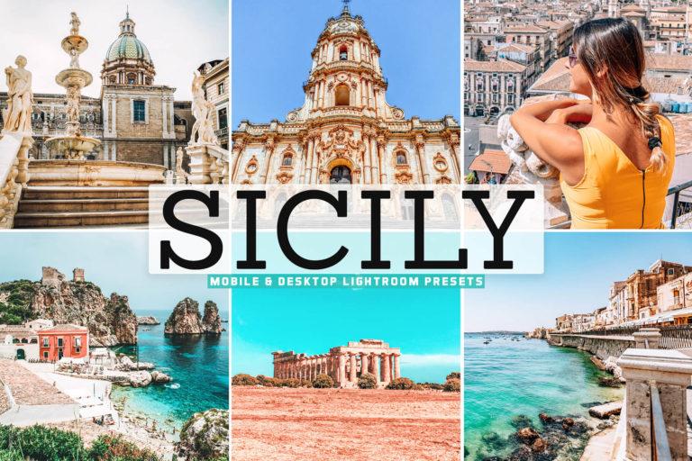 Preview image of Sicily Mobile & Desktop Lightroom Presets