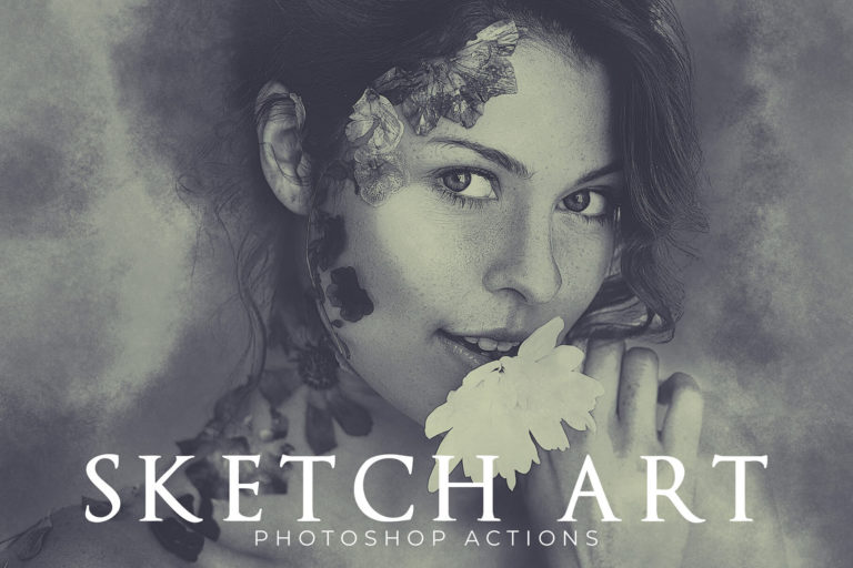 Preview image of Sketch Art Photoshop Actions