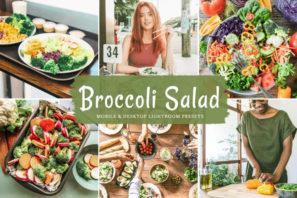 Broccoli Salad Mobile & Desktop Lightroom Presets