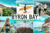 Last preview image of Byron Bay Mobile & Desktop Lightroom Presets