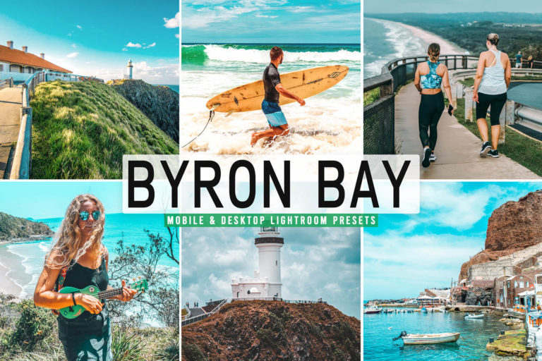 Preview image of Byron Bay Mobile & Desktop Lightroom Presets