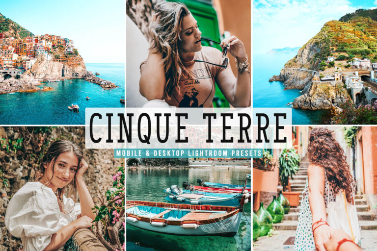 Preview image of Cinque Terre Mobile & Desktop Lightroom Presets