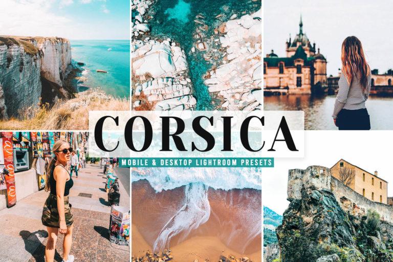 Preview image of Corsica Mobile & Desktop Lightroom Presets