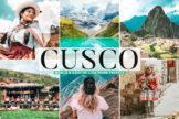 Last preview image of Cusco Mobile & Desktop Lightroom Presets
