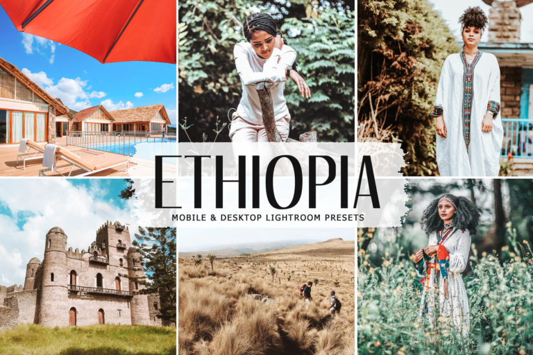 Preview image of Ethiopia Mobile & Desktop Lightroom Presets