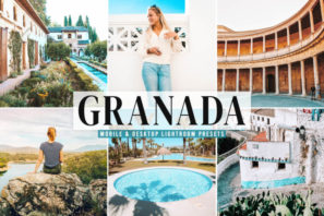 Granada Mobile & Desktop Lightroom Presets