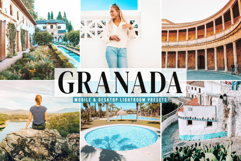 Preview image of Granada Mobile & Desktop Lightroom Presets