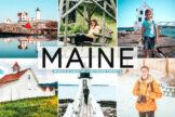 Last preview image of Maine Mobile & Desktop Lightroom Presets