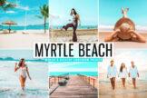 Last preview image of Myrtle Beach Mobile & Desktop Lightroom Presets