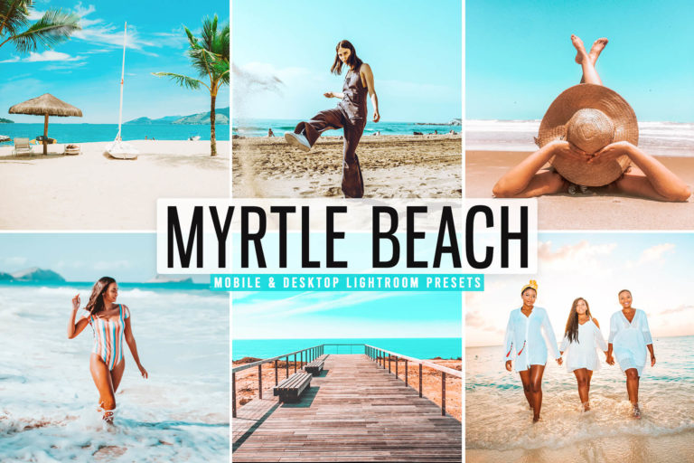 Preview image of Myrtle Beach Mobile & Desktop Lightroom Presets