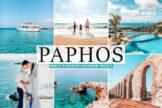Last preview image of Paphos Mobile & Desktop Lightroom Presets