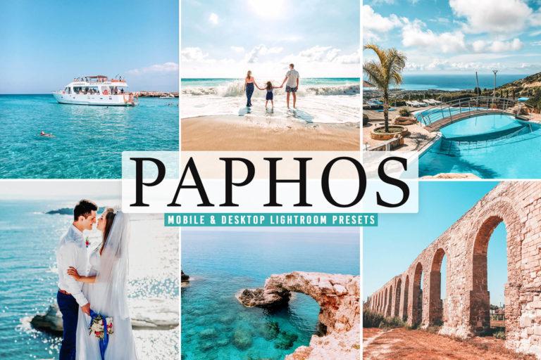 Preview image of Paphos Mobile & Desktop Lightroom Presets