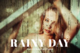 Last preview image of Rainy Day Photoshop Actions