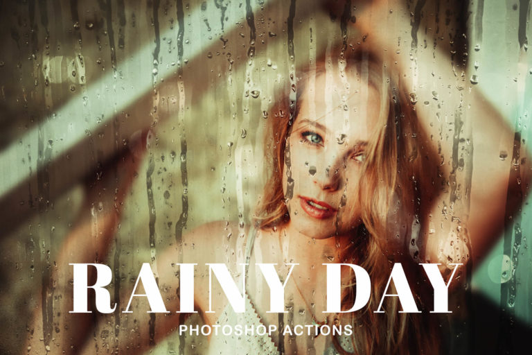 Preview image of Rainy Day Photoshop Actions