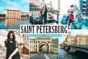 Saint Petersburg Mobile & Desktop Lightroom Presets