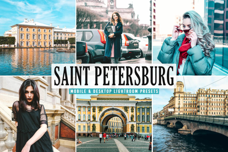 Preview image of Saint Petersburg Mobile & Desktop Lightroom Presets