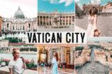 Last preview image of Vatican City Mobile & Desktop Lightroom Presets