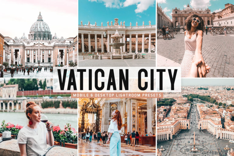 Preview image of Vatican City Mobile & Desktop Lightroom Presets
