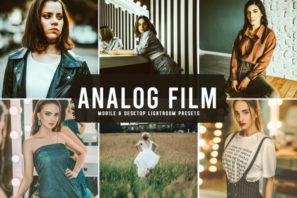 Analog Film Mobile & Desktop Lightroom Presets