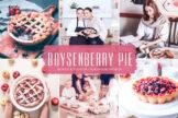 Last preview image of Boysenberry Pie Mobile & Desktop Lightroom Presets