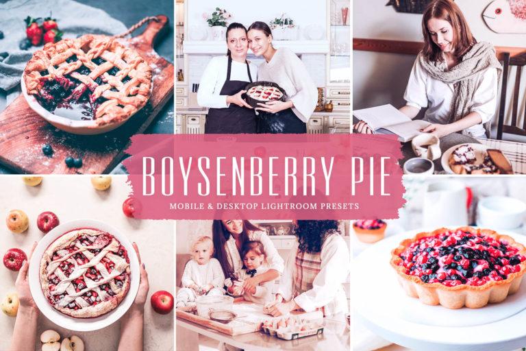 Preview image of Boysenberry Pie Mobile & Desktop Lightroom Presets