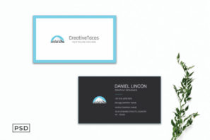 Creative Sober Business Card Template V2