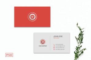 Elegant Minimal Business Card Template V3