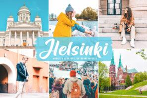 Helsinki Mobile & Desktop Lightroom Presets